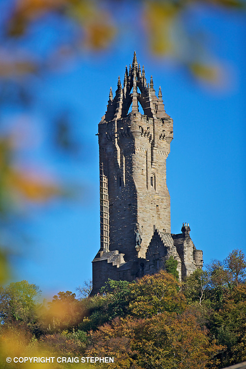Tha Wallace Monument, Stirling, Scotland.
