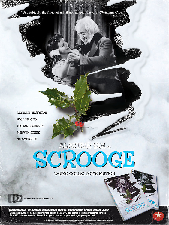 Scrooge 2-Disc Collector&rsquo;s Edition DVD Box Set<br />