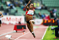 Friidrett , 13. juni 2013 , Diamond League , Bislett Games<br /> Athletics<br /> Chiamaka Okparaebo , NOR<br /> triple jump