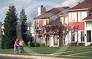 Harrisburg, PA, Suburban Development, Neighbors, Sidewalk, Street Scape, Homes