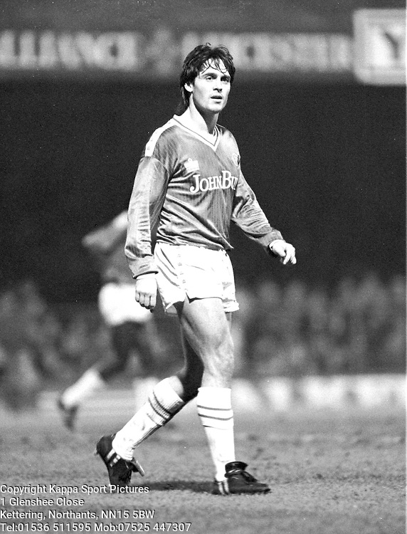 KEVIN Moran, Leicester City 1986