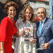 NLD/Amserdam/20150604 - Uitreiking Talkies Terras Award 2015 en onthulling cover, Kristina Bozilovic, Renate Verbaan en Roberto Payer