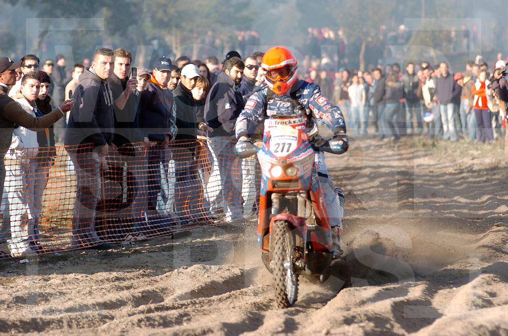 Le Dakar 2007..no: 211  .PRONK MARCEL  .KTM  HOL  DUTCH TEAM DAKAR..fotografie frank uijlenbroek©2006 frank uijlenbroek..Lissabon/Portima..070107 Portimao Portugal