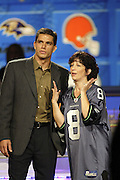 Kansas City Chiefs quarterback Trent Green appears on NFL Players Week on Wheel of Fortune on 11/04/2003. ©Paul Anthony Spinelli