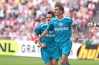 Fotball<br /> Nederland<br /> Foto: ProShots/Digitalsport<br /> NORWAY ONLY<br /> <br /> seizoen 2006-2007 johan cruyfschaal amsterdam 13-08-2006 gelijkmaker 1-1 door phillip cocu voor psv