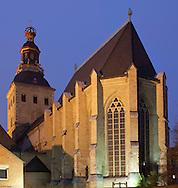 Europe, Germany, North Rhine-Westphalia, Cologne, the romanesque church St. Ursula...Europa, Deutschland, Nordrhein-Westfalen, Koeln, die romanische Kirche St. Ursula.