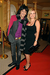 RONNIE WOOD and KATHERINE JENKINS at the South Bank Show Awards held at The Dorchester, Park Lane, London on 29th January 2008.<br />