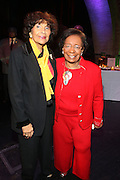 l to r: Alma Rangel and Dr. Marcella Maxwellat The Abyssinian Baptist Church Official Kick-Off The Abyssinian Fund Benefit held at the Harlem Gate House on December 5, 2009 in Harlem, New York City..The Abyssinian Fund is committed to reducing poverty in Ethiopia by working with partner organizations, farming cooperatives and community residents to improve healthcare, education and access to clean water.