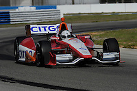 E.J. Viso, INDYCAR Spring Training, Sebring International Raceway, Sebring, FL 03/05/12-03/09/12