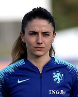 International Women's Friendly Matchs 2019 / <br /> Womens's Algarve Cup Tournament 2019 - <br /> Spain v Netherlands 2-0 ( Municipal Da Bela Vista Stadium- Parchal,Portugal ) - <br /> Daniëlle Van de Donk of Netherlands