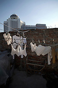 Laundry out to dry in Beijing