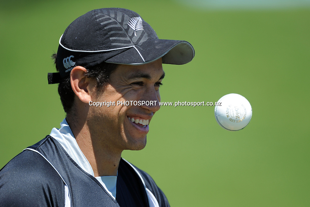 Ross Taylor during a photoshoot. New Zealand Cricket players photoshoot. Colin Maiden Park, Auckland. 11 November 2011. Photo: Andrew Cornaga/photosport.co.nz