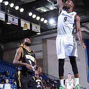 Reno Bighorns Forward Jordan Hamilton (9) dunks the ball in the second half of a NBA D-league regular season basketball game between the Delaware 87ers and the Reno Bighorns (Sacramento Kings), Tuesday, Feb. 10, 2015 at The Bob Carpenter Sports Convocation Center in Newark, DEL
