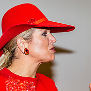 NLD/Den Bosch/20161201 - Koningin Maxima opent Jheronimus Academy of Data Science,