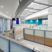 Ground Floor Office Interior at 300 Capitol Office infrastructure- architectural and Interior Photography example of Chip Allen's work.