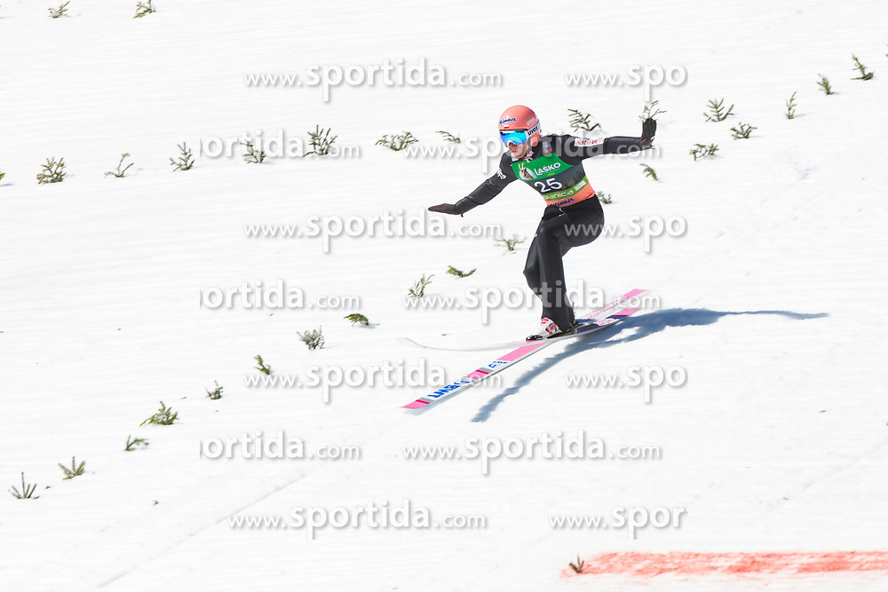 Stefan Kraft (AUT) during the 2nd round of the Ski Flying Hill Individual Competition at Day 4 of FIS Ski Jumping World Cup Final 2019, on March 24, 2019 in Planica, Slovenia. Photo Peter Podobnik / Sportida