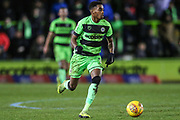 Forest Green Rovers Reece Brown(10) runs forward during the EFL Sky Bet League 2 match between Forest Green Rovers and Mansfield Town at the New Lawn, Forest Green, United Kingdom on 29 January 2019.