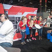 2015 ESPN Auto Show - Carmen & Jurko