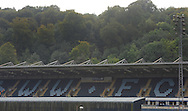 A general view of Admas Park before the Sky Bet League 2 match at Adams Park, High Wycombe<br /> Picture by Seb Daly/Focus Images Ltd +447738 614630<br /> 06/09/2014