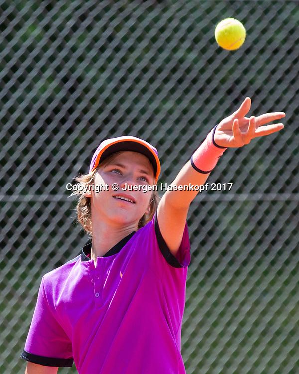 MATVEI ALEKSANDROV (RUS), Bavarian Junior Open 2017, Tennis Europe Junior Tour, BS 16<br /> <br /> Tennis - Bavarian Junior Open 2017 - Tennis Europe Junior Tour -  SC Eching - Eching - Bayern - Germany  - 8 August 2017. <br /> &copy; Juergen Hasenkopf