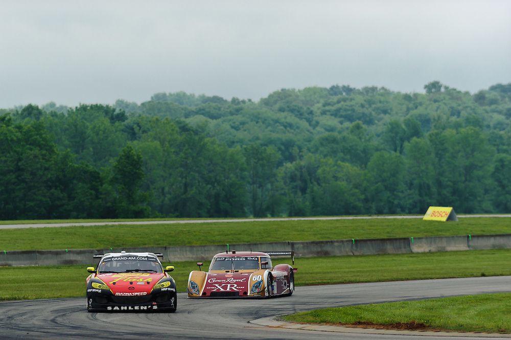 Bosch Engineering Grand-Am Rolex Sports Car Series  Virginia International Raceway. Alton,VA USA 2011/05  © Scott LePage / MotorRacingPhoto