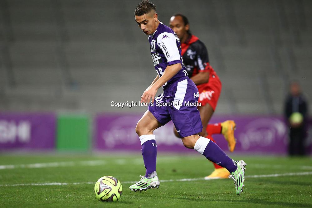 Wissam Ben Yedder  - 20.12.2014 - Toulouse / Guingamp - 19eme journee de Ligue 1 <br /> Photo : Manuel Blondeau / Icon Sport