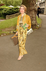 MISS SARI AKHAVAN at a summer party held at The Natural History Museum entitled 'Evolution'  on 29tth June 2004.