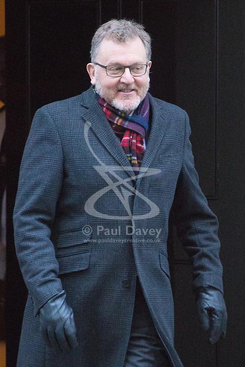 Downing Street, London, November 29th 2016. Scotland Secretary David Mundell leaves 10 Downing Street following the weekly cabinet meeting.