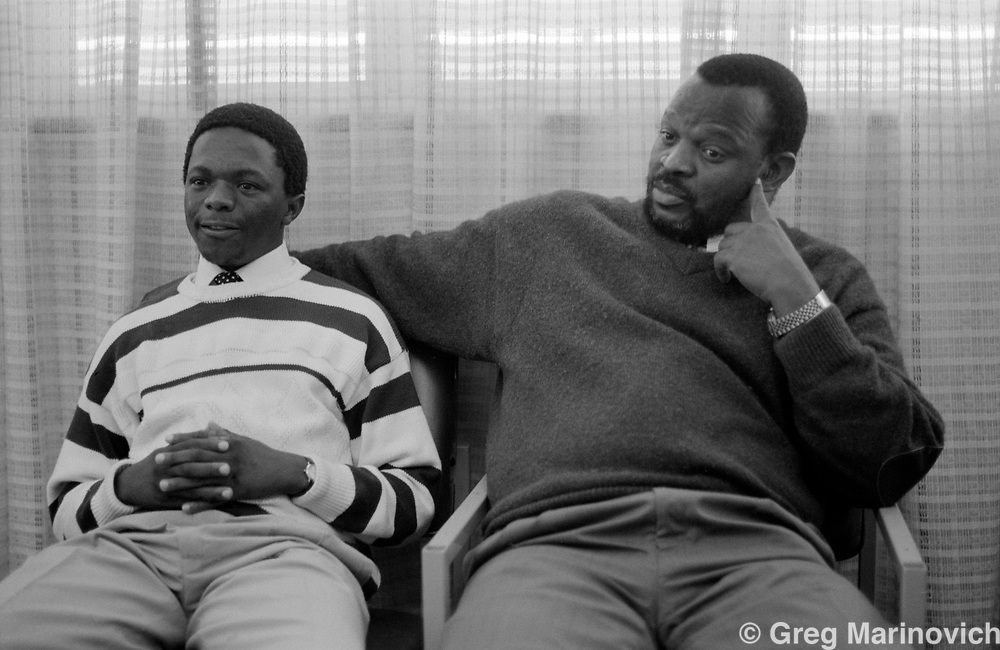 Transkei, South Africa, 1992/3. unidentified people..