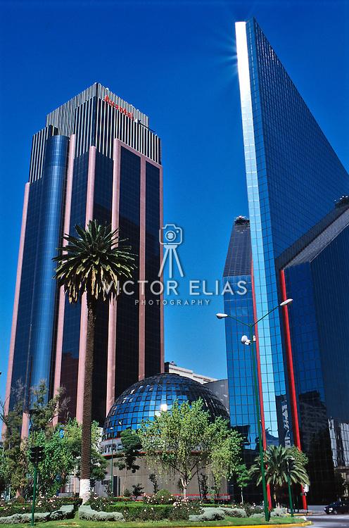 Stock exchange in Mexico city.