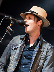 The Fratellis performing at Party At The Palace Music Festival in Linlithgow Palace grounds on Sat 13th August 2016.<br /> <br /> The Fratellis are a rock band from Glasgow, Scotland.<br /> <br /> Jon Fratelli - Lead vocals, guitar, piano<br /> Barry Fratelli - Bass guitar, backing vocals<br /> Mince Fratelli - Drums and percussion, occasional guitar backing vocals<br /> <br /> <br /> Alan Rennie/ EEm