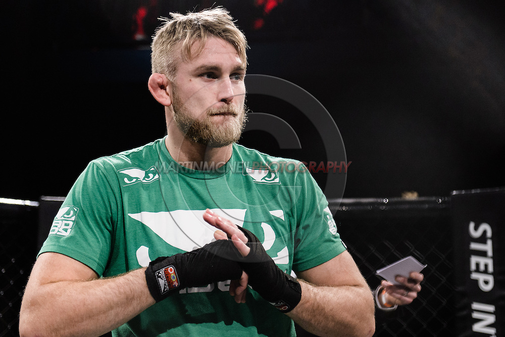 "LONDON, ENGLAND, MARCH 5, 2014: Alexander Gustafsson is pictured at the media open work-out sessions for ""UFC Fight Night: Gustafsson vs. Manuwa"" inside One Embankment in London, England (Martin McNeil for ESPN)"