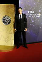 Cristiano Ronaldo (POR) auf dem roten Teppich. © Valeriano Di Domenico/EQ Images