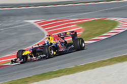 18.02.2011, Circuit de Catalunya, Barcelona, ESP, Formel 1 Test 3 2011,  im Bild Sebastian Vettel (GER), Red Bull Racing EXPA Pictures © 2011, PhotoCredit: EXPA/ nph/  Dieter Mathis       ****** out of GER / SWE / CRO  / BEL ******