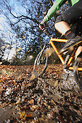 mountain bike mud riding