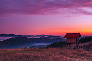 Autumn morning in Rhodope Mountains