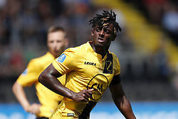 Greg Leigh of NAC Breda during the Pre-season Friendly match between NAC Breda and EDS Team Manchester City at Rat Verlegh stadium on August 04, 2018 in Breda, The Netherlands