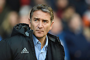 Nottingham Forest manager Philippe Montanier during the EFL Sky Bet Championship match between Nottingham Forest and Cardiff City at the City Ground, Nottingham, England on 22 October 2016. Photo by Jon Hobley.