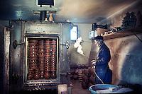 accensione del forno a gas