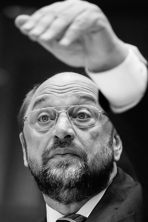 Martin SCHULZ EP President. Committeeof the Regions plenary.