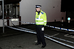 © Licensed to London News Pictures. 05/01/2013. Police at the scene on Mayfield Crescent in Thornton Heath, South London, where the body of of mother Janelle Duncan-Bailey was found by detectives investigating her disappearance. The body of of mother Janelle Duncan-Bailey was found in a car. Photo credit : Grant Falvey/LNP