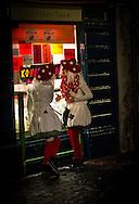 Mushroom Girls at the Luzern Fasnacht