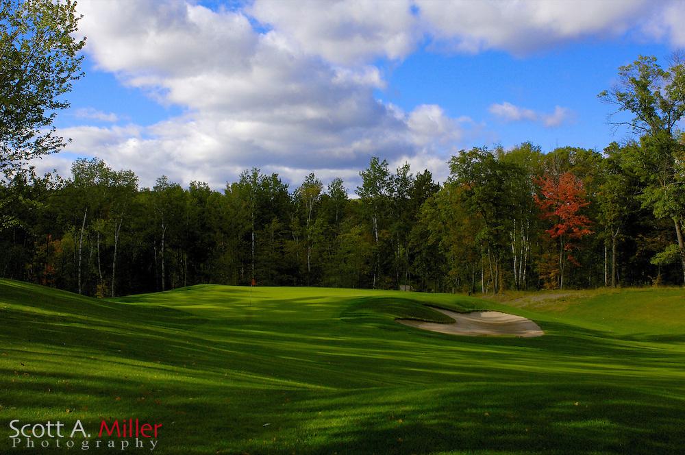 Sept. 19, 2006; Brainerd, Minn., USA; No. 15 on Golden Eagle Golf Club part of the Brainerd Golf Trail in Minnesota..                ©2006 Scott A. Miller