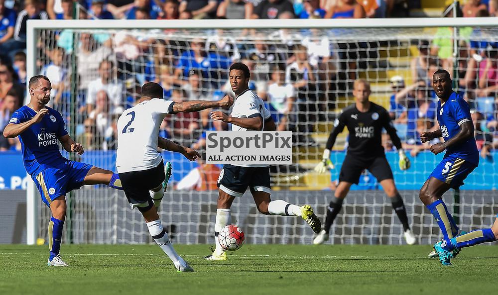 Kyle Walker fires in a long range effort (c) Simon Kimber | SportPix.org.uk