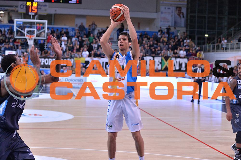 Zoltan Perl<br /> Dolomiti Energia Trentino - Betaland Capo D'Orlando<br /> Lega Basket Serie A 2016/2017<br /> Venezia 23/10/2016<br /> Foto Ciamillo-Castoria