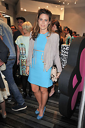 FRANCESCA VERSACE at the opening party for Nicholas Kirkwood's new store at 5 Mount Street, London on 12th May 2011.