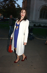 The HON.FLORA RYCROFT sister of Samantha Cameron at the wedding of Clementine Hambro to Orlando Fraser at St.Margarets Westminster Abbey, London on 3rd November 2006.<br />
