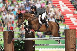Alvarez Moya, Sergio, Action Breaker<br /> Normandie - WEG 2014<br /> 2. Qualifikation<br /> © www.sportfotos-lafrentz.de/ Stefan Lafrentz