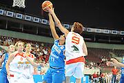 DESCRIZIONE : Riga Latvia Lettonia Eurobasket Women 2009 Quarter Final Spagna Italia Spain Italy<br /> GIOCATORE : Laia Palau<br /> SQUADRA : Spagna Spain<br /> EVENTO : Eurobasket Women 2009 Campionati Europei Donne 2009 <br /> GARA : Spagna Italia Spain Italy<br /> DATA : 17/06/2009 <br /> CATEGORIA : stoppata<br /> SPORT : Pallacanestro <br /> AUTORE : Agenzia Ciamillo-Castoria/M.Marchi