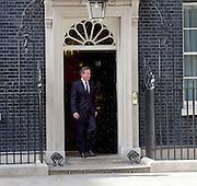 David Cameron Prime Minister welcomes President Bakir Izetbegovic of Bosnia and Herzegovina to Downing Street.<br /> 6th July 2015 <br /> <br /> <br /> Photograph by Elliott Franks <br /> Image licensed to Elliott Franks Photography Services